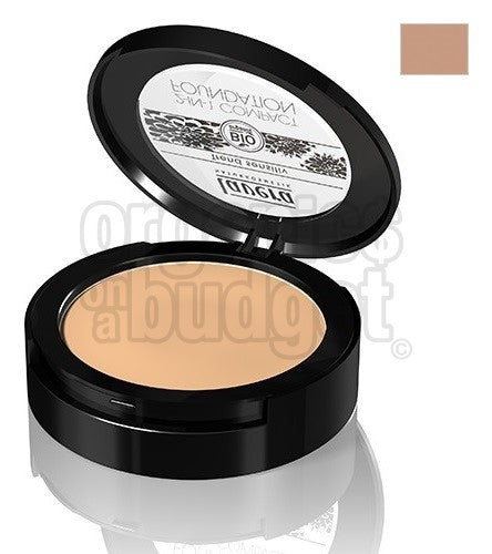 Lavera 2-in-1 Compact Foundation Honey 03 10g (FREE SHIPPING)