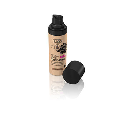 Lavera Natural Liquid Foundation - Almond Amber 05 30ml