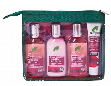 DR ORGANIC Mini Travel Pack - Rose Otto