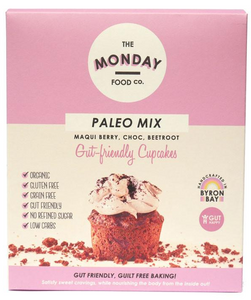 Monday Food. Co Paleo Mix Cupcakes - Maqui Berry, Choc, Beetroot 300g