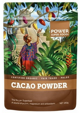 Power Super Foods Organic Cacao Powder 250g 25% OFF