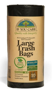 If You Care Large Trash Bags 10 bags 75cmx100cm