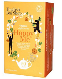 English Tea Shop Organic Wellness Happy Me Teabags 20pc