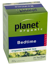 Planet Organic Bedtime Herbal Tea (Caffeine Free) 25 bags/25g