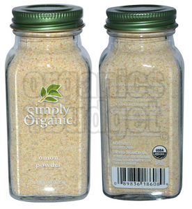 Simply Organic Onion Powder 85g (Kosher)