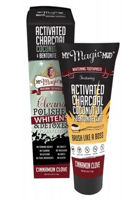My Magic Mud Whitening Toothpaste Cinnamon Clove 113g