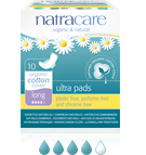 Natracare Long Ultra Pads With Wings 10 pack