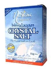 Nirvana Himalayan Salt Stone Ground (Fine) 1kg