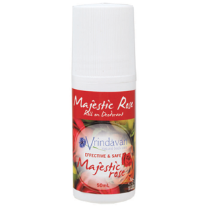 Vrindavan Roll-on Deodorant Majestic Rose 50ml