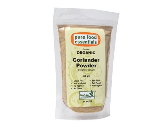 Pure Foods Essentials Organic Coriander Powder 80g
