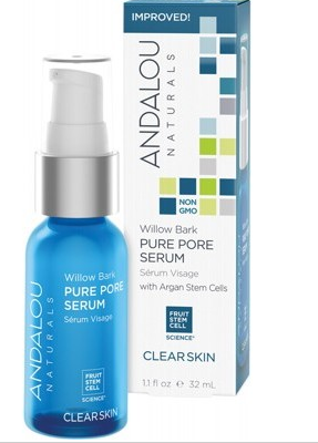 Andalou Naturals Clear Skin (for Oily Skin) Willow Bark Pure Pore Serum 32ml