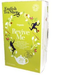 English Tea Shop Organic Wellness Revive Me Teabags 20pc