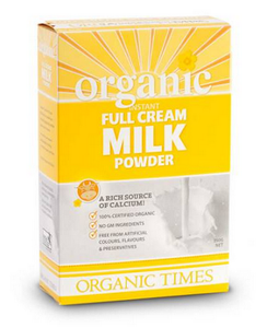 Organic Times Full Cream Milk Powder 300g