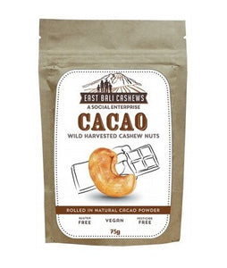 East Bali Cashews Cacao Cashew Nuts 75g