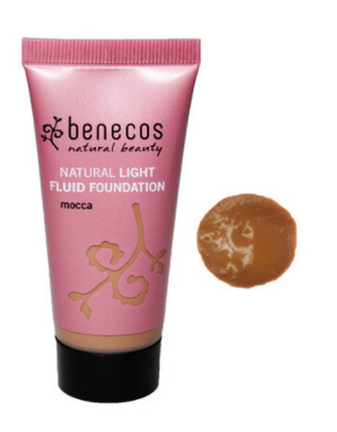 Benecos Natural Light Fluid Foundation - Mocca (30ml)