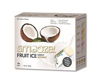 Smooze Fruit Ice Treats Simply Coconut 8x65ml