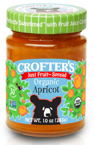 Crofters Just Fruit Spread Organic Apricot - 283g