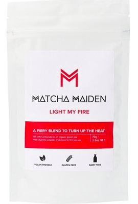 Matcha Maiden - Matcha Green Tea Powder - Light My Fire 70g