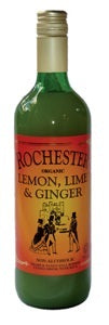 Rochester Ginger Organic Lemon, lime & Ginger 725ml