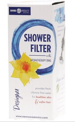 Enviro Products Designer Shower Filter (Chrome)