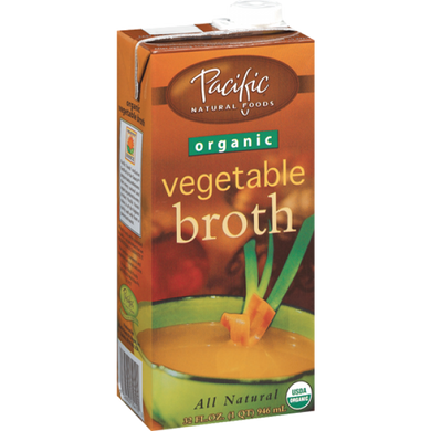 Pacific Foods Organic Vegetable Stock/Broth 946ml