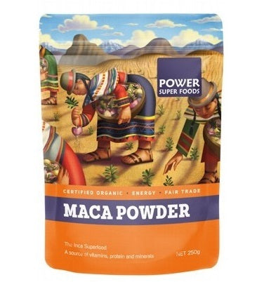 Power Super Foods Organic Maca Root Powder 250g 20% OFF