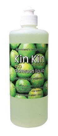 Kin Kin Naturals Dishwash Liquid Lime & Eucalypt 550ml