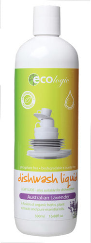 Ecologic Dishwash Liquid Australian Lavender 500ml