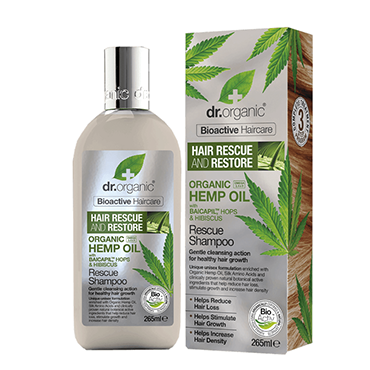 Dr Organic Hemp Shampoo 265ml
