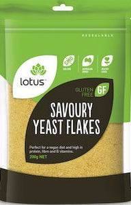 Lotus Nutritional Savoury Yeast Flakes 200g