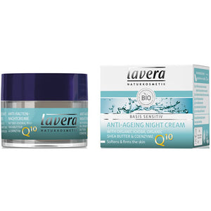 Lavera Basis Anti-Age Night Cream Q10 50ml