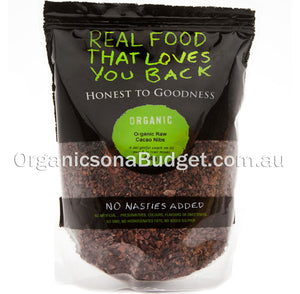 Honest To Goodness Organic Raw Cacao Nibs 200g
