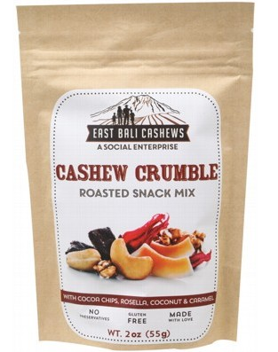 EAST BALI Roasted Snack Mix Cashew Crumble 55g