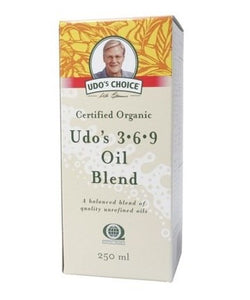 UDO'S Choice Organic Omega 3, 6, 9 Oil Blend 250ml