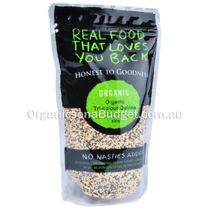 Honest To Goodness Organic Tri-colour Quinoa 500g