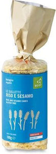 Ecor Organic Wholegrain Rice Cakes with Sesame 200g