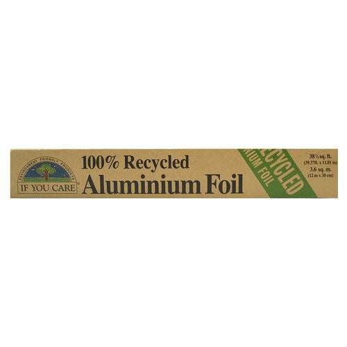 If You Care 100% Recycled Aluminium Foil 10mx29.2cm