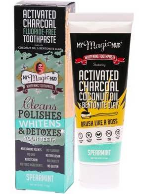 My Magic Mud Whitening Toothpaste Spearmint 113g