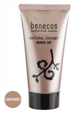 Benecos Natural Creamy Make-Up - Caramel (30ml)
