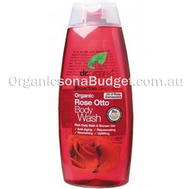 Dr Organic Rose Otta Body Wash 250ml