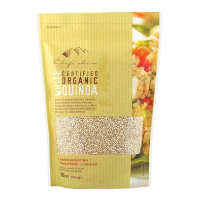 Chef's Choice Organic White Quinoa 500g