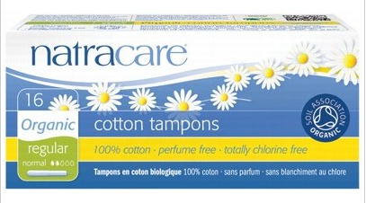 Natracare Regular Tampons (Applicator) 16 pack