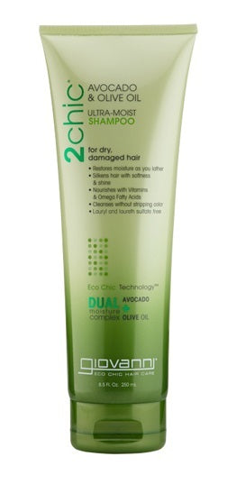 Giovanni Avocado & Olive Oil Ultra Moist Shampoo 250ml