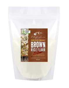 Chef's Choice Certified Organic Brown Rice Flour 500g