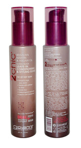 Giovanni Brazilian Keratin & Argan Oil Ultra Sleek Leave-In Conditioning & Styling Elixir 118ml