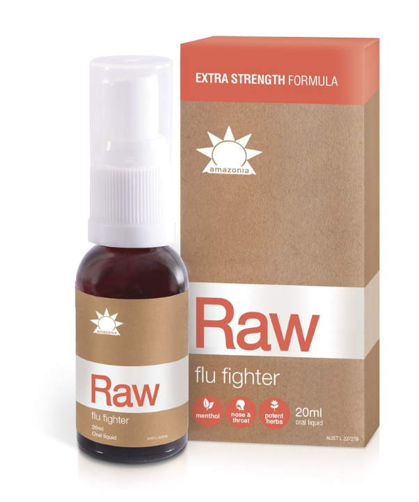 AMAZONIA RAW Flu Fighter Spray 20ml