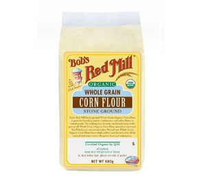 Bob's Red Mill Organic Wholegrain Corn Flour 680g