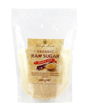 Chef's Choice Organic Raw Sugar 600g