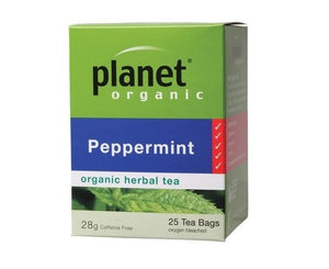 Planet Organic Peppermint Tea 25 bags/28g
