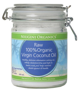 Niugini Organics Virgin Coconut Oil 650ml